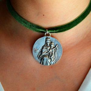 Medalla Escapulario Virgen Del Carmen