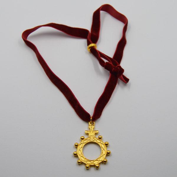 Medalla Misterio Cruz San Francisco