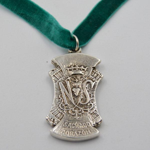 medalla nuestra señora sagrado corazón
