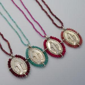 Collar medalla de la Milagrosa