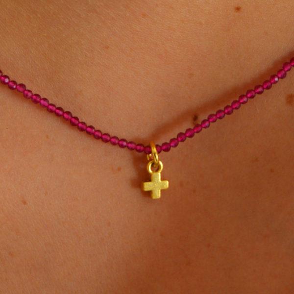 Collar miniaturas Cruz