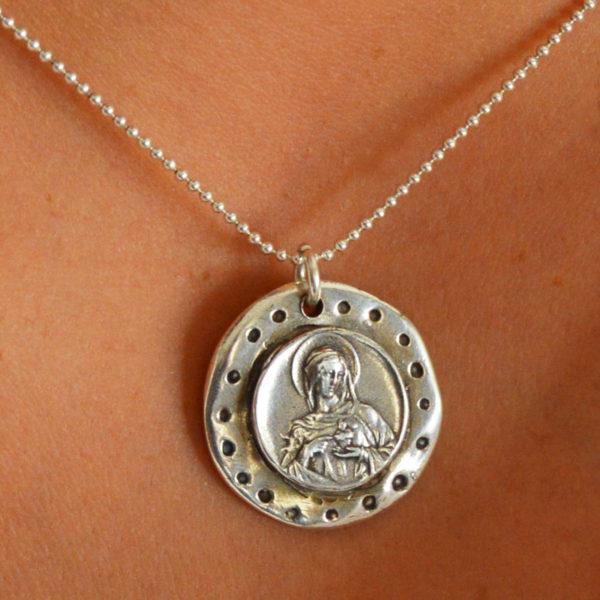medalla Corazón de María