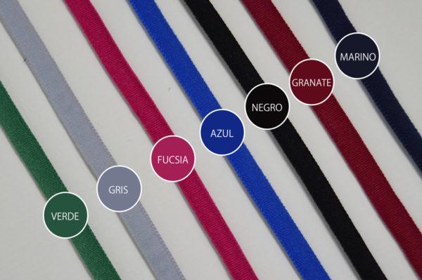 Colores cordón elástico